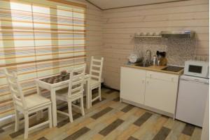 Люкс коттедж №7 с баней на 2 гостей