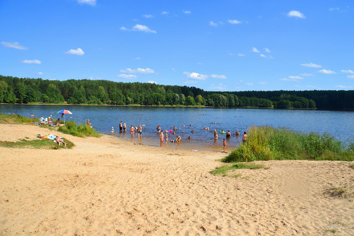 Сынтульский летний пляж